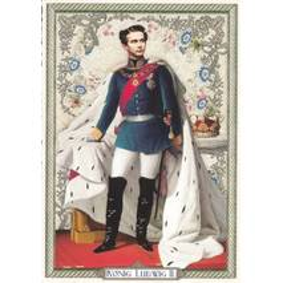 König Ludwig II - Tausendschön - Postkarte