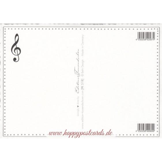 Ludwig van Beethoven - Tausendschön - Postkarte