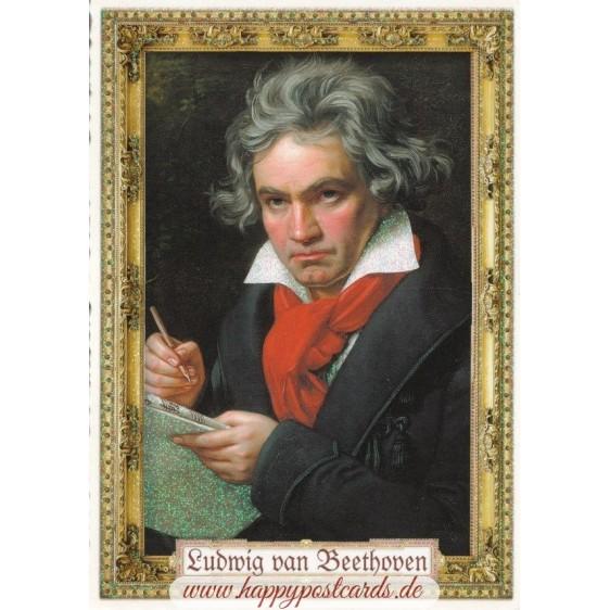 Ludwig van Beethoven - Tausendschön - Postcard