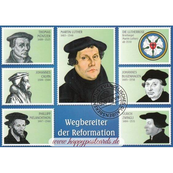 Reformation - Viewcard