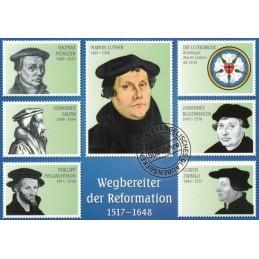 Wegbereiter der Reformation - Ansichtskarte