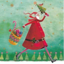 Santa Claus - Mila Marquis Postcard