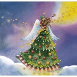 Angel playing Violin - Nina Chen Postcard