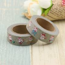 Happy Santa Claus - Washi Tape - Masking Tape