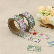 Flowers variations - Washi Tape - Masking Tape