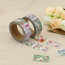 Flowers variations - Washi Tape - Masking Tape