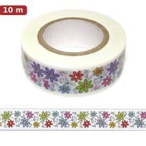 Flowers 9 - Washi Tape - Masking Tape