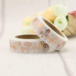 Pilze Kupfer - Folie - Washi Tape - Masking Tape