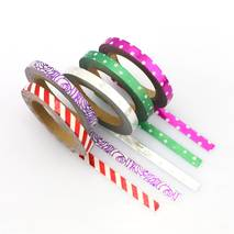 Mix 5 thinn rolls foil - Washi Tape - Masking Tape
