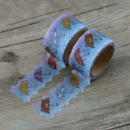 Umbrella - Die Cut - Washi Tape - Masking Tape
