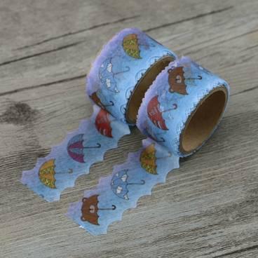 Regenschirme Gestanzt - Washi Tape - Masking Tape