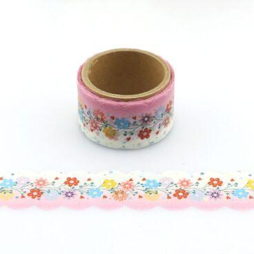 Blumen Gestanzt - Washi Tape - Masking Tape