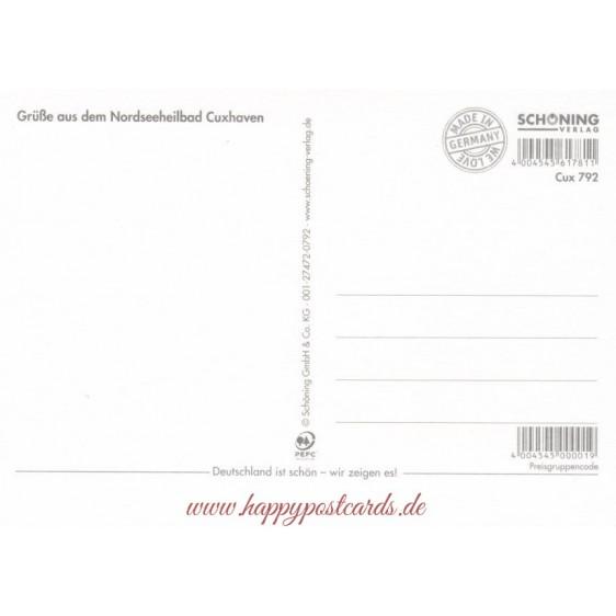 Cuxhaven - Postcard