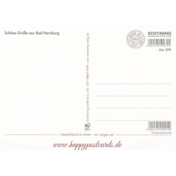 Bad Harzburg - Postcard