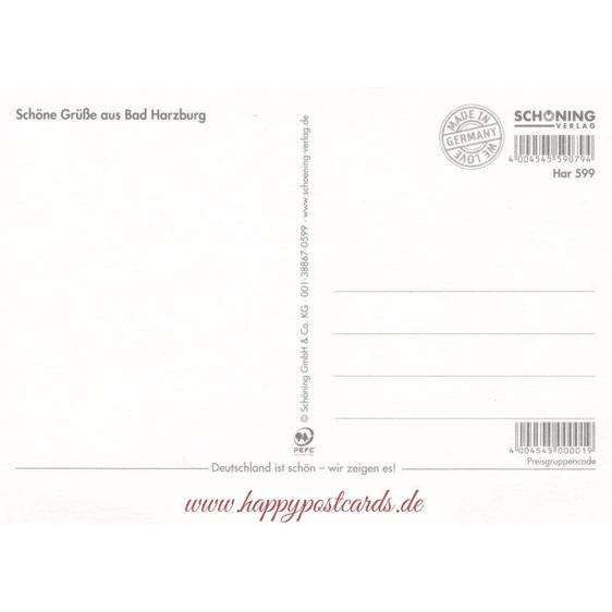 Bad Harzburg - Postkarte