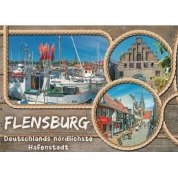 Flensburg - Viewcard