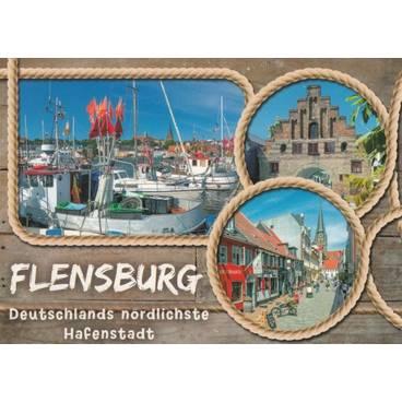 Flensburg - Ansichtskarte