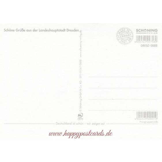 Dresden - Ortsschild - Viewcard