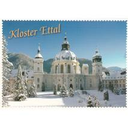 Convent Ettal - Viewcard