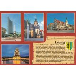 Leipzig - Chronicle - Viewcard