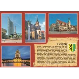 Leipzig - Chronikkarte