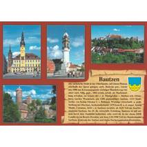 Bautzen - Chronicle - Viewcard
