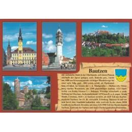 Bautzen - Chronikkarte