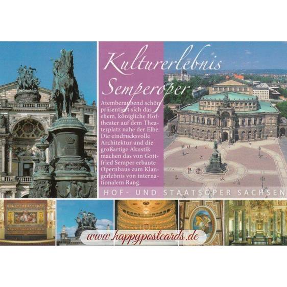 Dresden - Semperoper - Chronicle - Viewcard