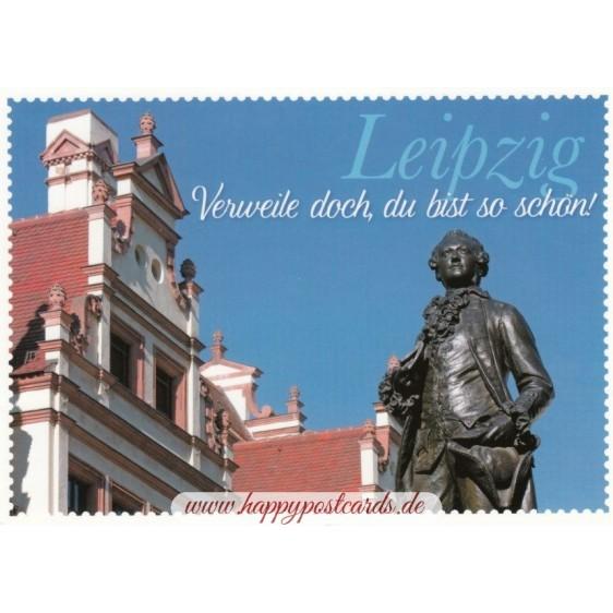 Leipzig Goethe - Viewcard