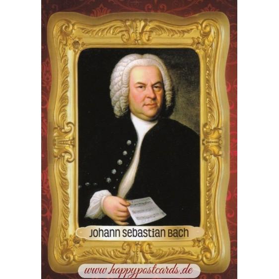 Johann Sebastian Bach - Ansichtskarte