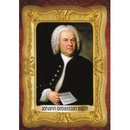 Johann Sebastian Bach - Viewcard