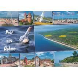 Post aus Dahme - Postkarte
