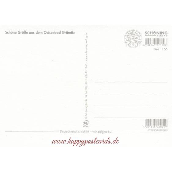 Mail from Grömitz - Viewcard