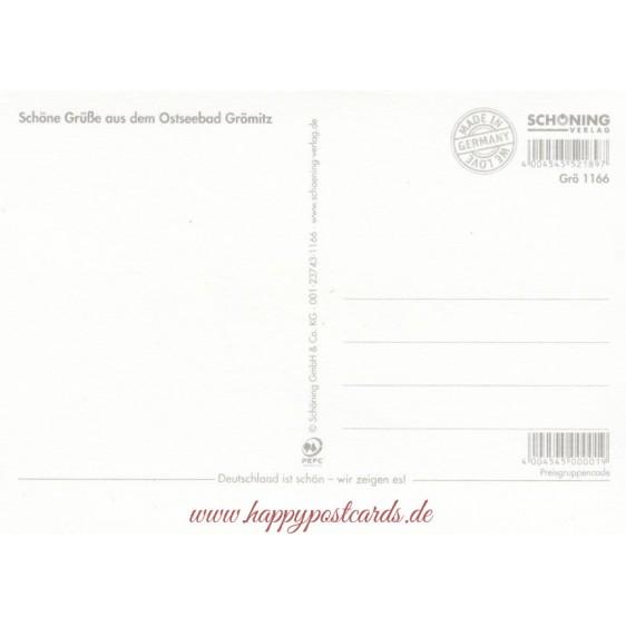 Post aus Grömitz - Ansichtskarte