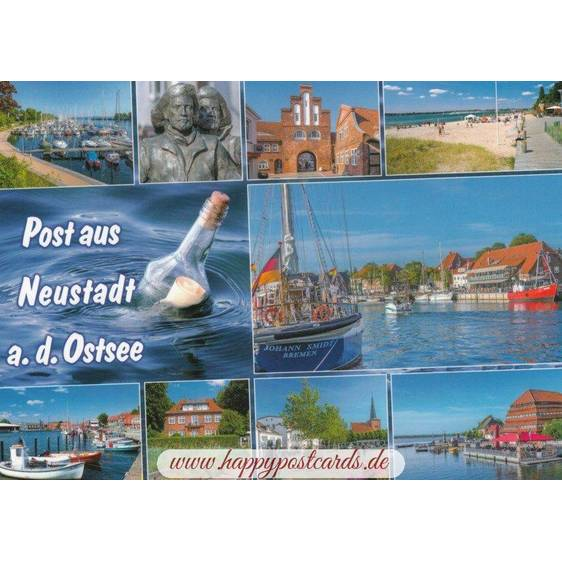 Mail from Neustadt a.d. Ostsee - Viewcard