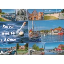 Post aus Neustadt a. d. Ostsee - Ansichtskarte