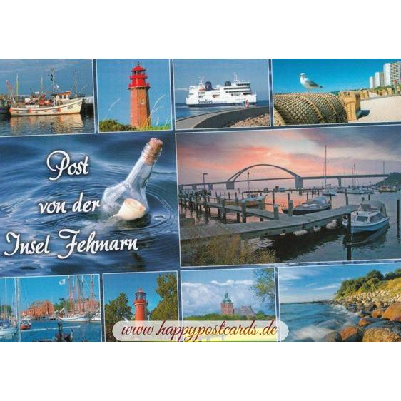 Mail from the island Fehmarn - Viewcard