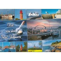 Post von der Insel Fehmarn - Ansichtskarte