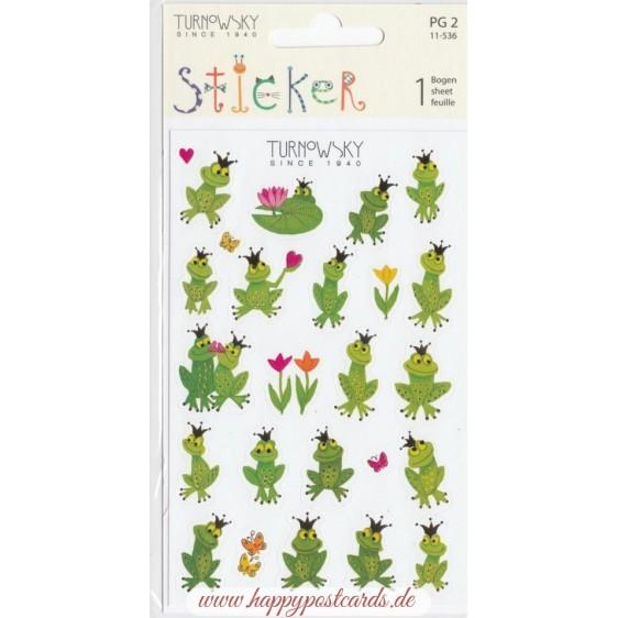 Frogs Turnowsky Sticker