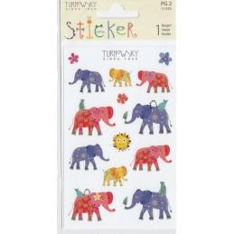 Elefanten Turnowsky Sticker