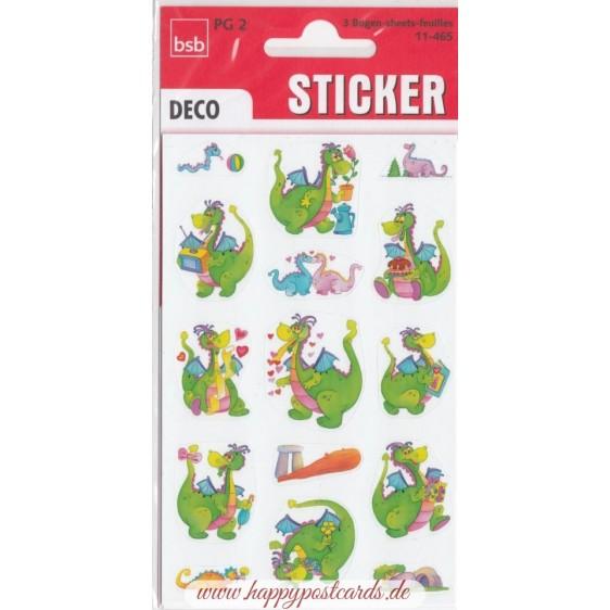 Cute Dragons Sticker