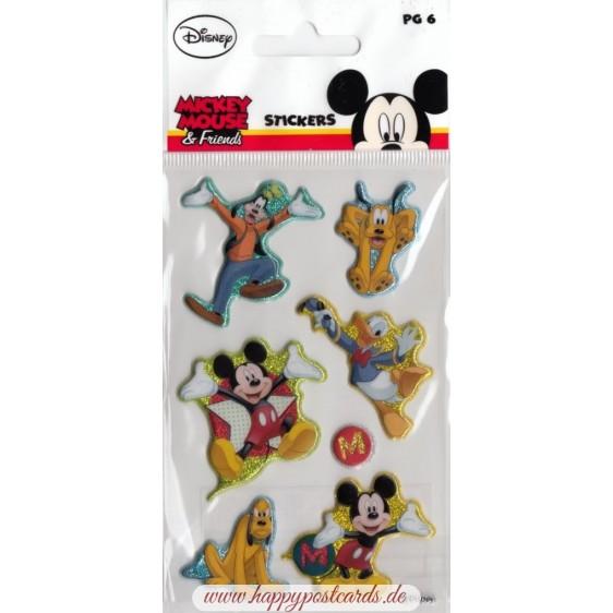 Micky Mouse Puffy - Disney Sticker