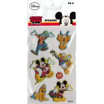 Micky Mouse Puffy - Disney Sticker