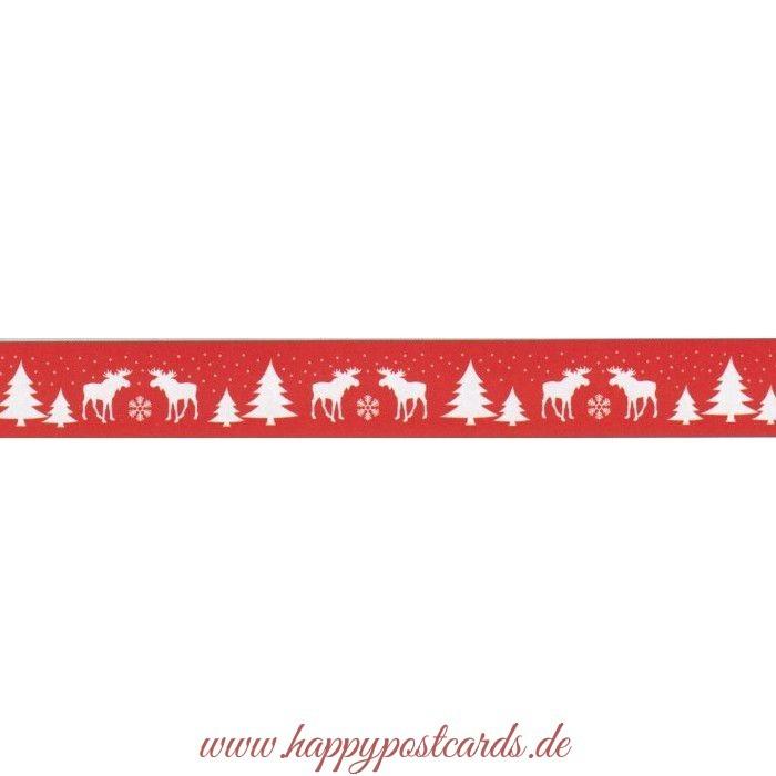 washi tape weihnachten elch washi tape masking tape. Black Bedroom Furniture Sets. Home Design Ideas