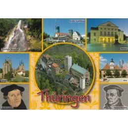 Thüringen 1 - Ansichtskarte