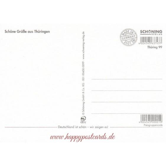 Thüringen 2 - Ansichtskarte