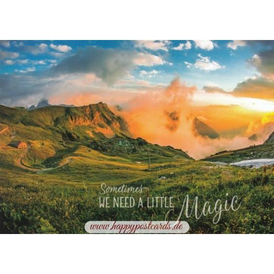 A little Magic - Viewcard