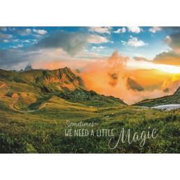 A little Magic - Ansichtskarte