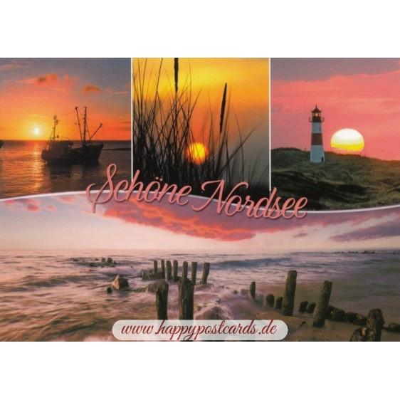 Beautiful North Sea - Viewcard