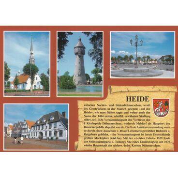 Heide - Chronikkarte